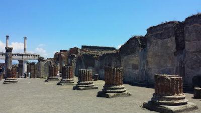 Ruinas arqueologicas de Pompeya