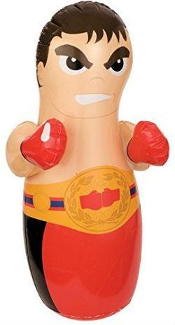 Saco de boxeo hinchable