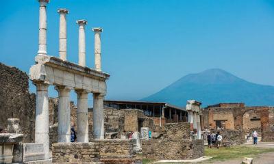 Visitar las ruinas de Pompeya