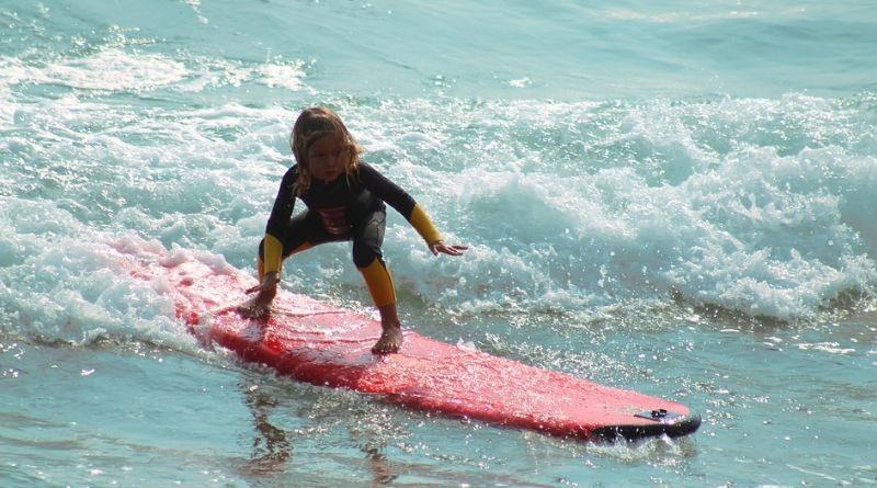 Beneficios del surf para ninos