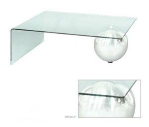 Mesa de Centro de Cristal Anais