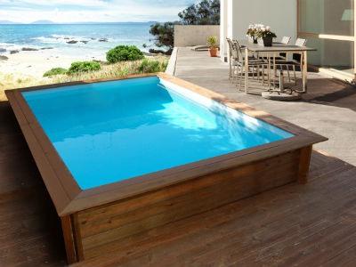Moda piscinas de madera