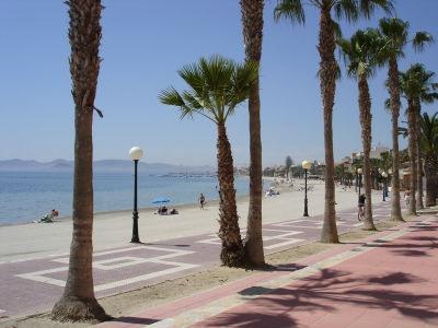 Playa de las Palmeras Murcia