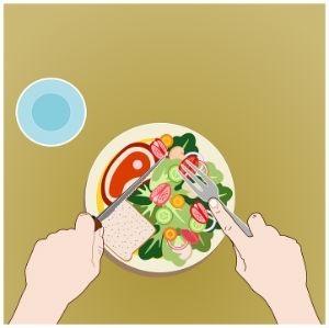 Tener alimentacion sana y equilibrada