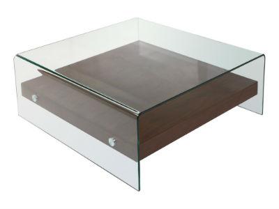 mesa centro cuadrada moderna