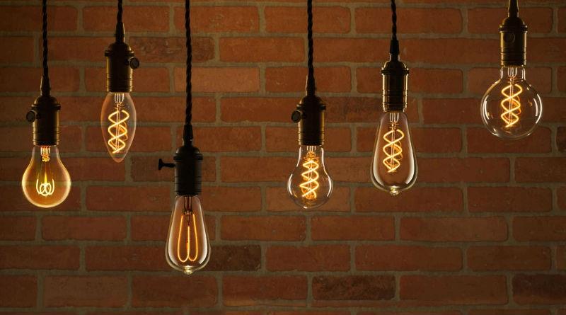 iluminacion led vintage
