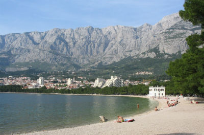 Playa Makarska Croacia