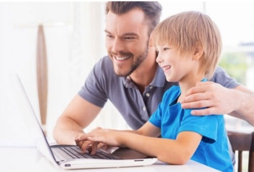 webs entretener hijos