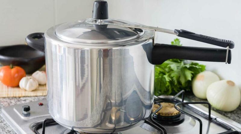 Cocinar con una olla a presion