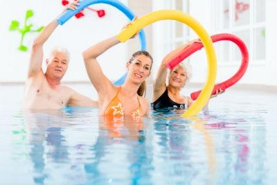Fisioterapia en el agua