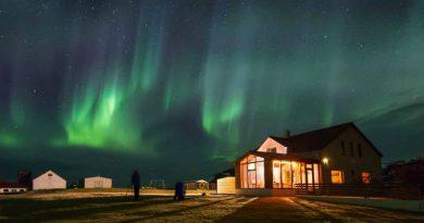 Aurora Boreal en unas vacaciones en Islandia
