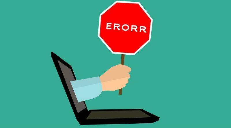 Errores web y cuantos hay