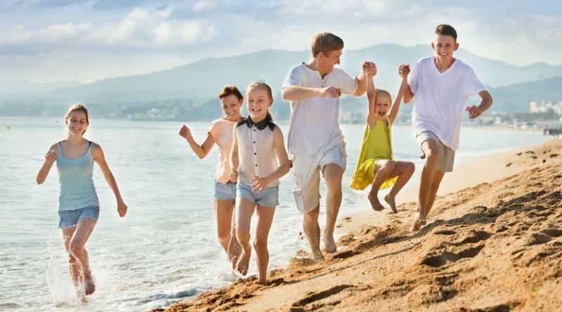 Vacaciones divertidas en familia