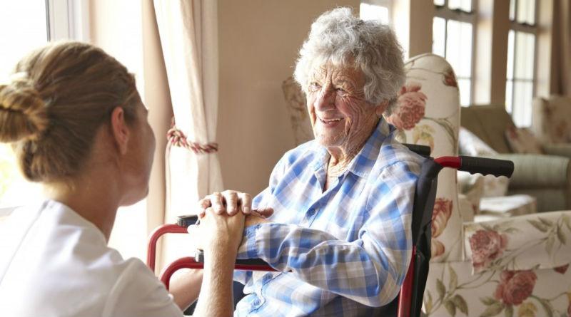 El cuidado de personas mayores