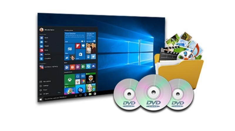 Grabar un DVD en Windows 10
