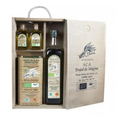 pack aceite oliva para regalar