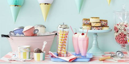 mesa dulce decorar fiesta