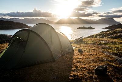 Finde de acampada