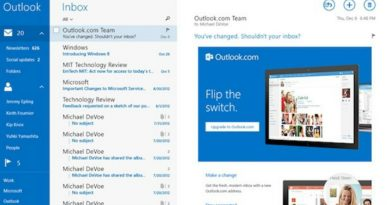 Outlook busca renovarse 2019
