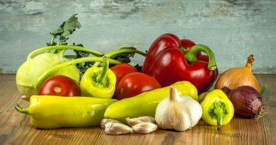 Beneficios del consumo de hortalizas y verduras