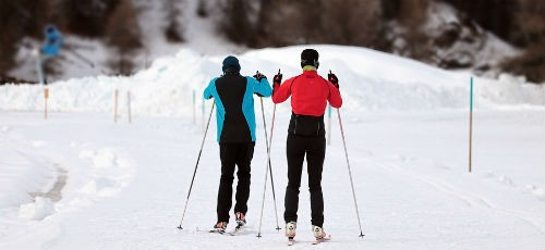 Practicar esqui
