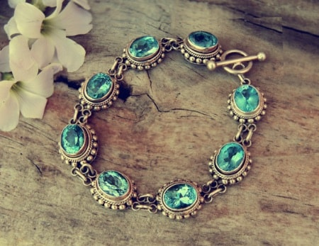 pulseras oro mujer