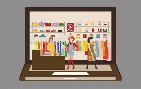 La moda y las compras online
