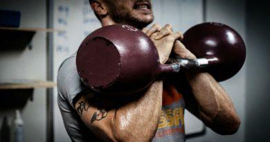crossfit con pesas