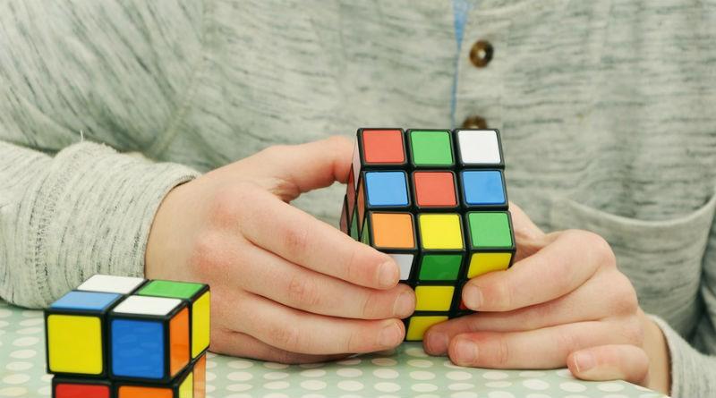 cubo de rubik magico