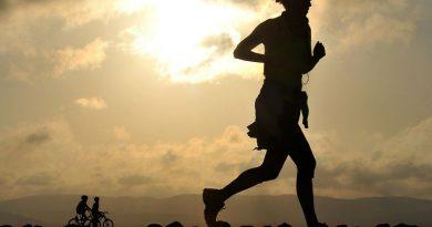 running y ejercicio en bicicleta