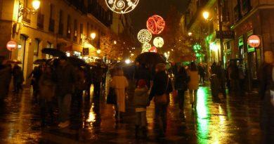 Como es la navidad en Londres y en Madrid