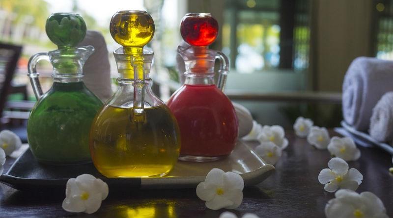 Diferentes perfumes de mujer