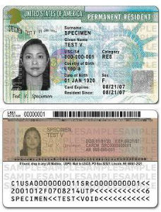 Elegibilidad para la tarjeta de residencia