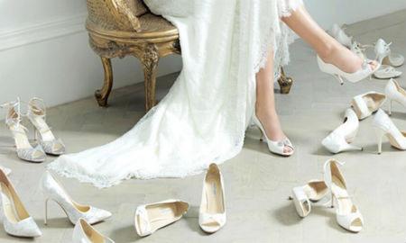 Las novias prefieren los zapatos cómodos