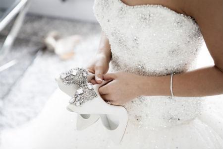 Zapatos cómodos para tu boda de ensueño