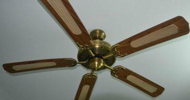 ventilador de techo eficaz y necesario