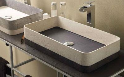 Lavabo rectangular