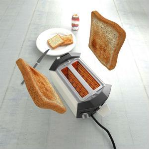 Pan hecho en la tostadora