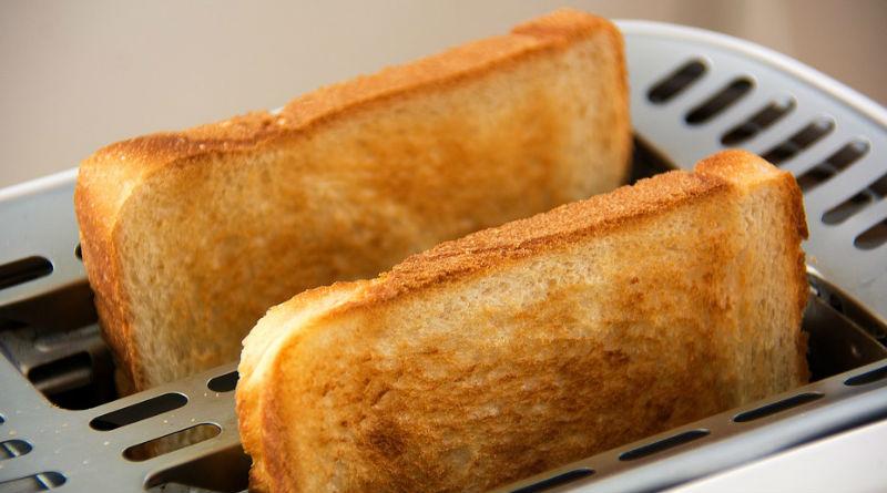 Pan tostado mas saludable