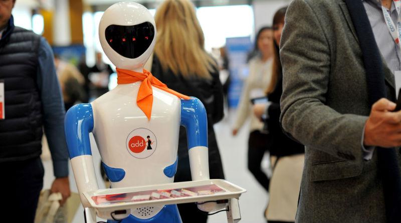 alquilar robot camarero