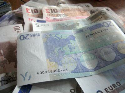 Cambiar euros por libras