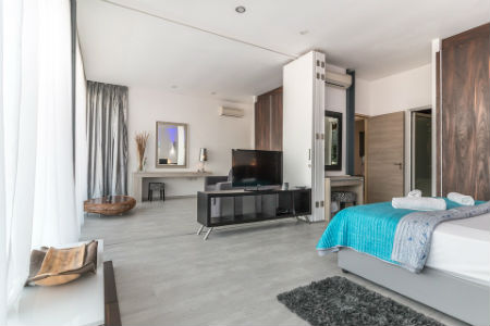 Habitación hotel de lujo