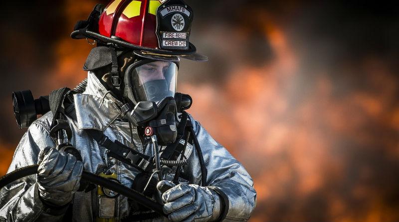 Equipos de oxigenoterapia para los bomberos