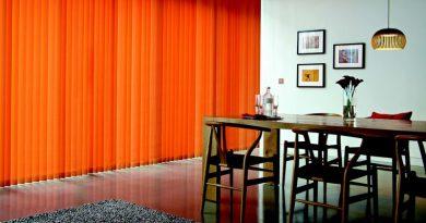 Tipos de cortinas verticales