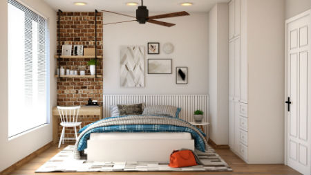 Habitación colchón