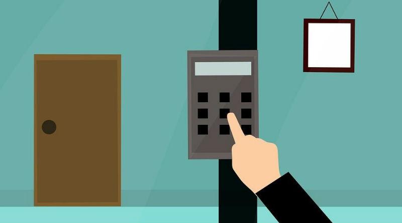 Sistema de alarma en el hogar