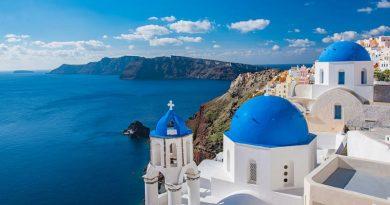 top cinco destinos navegar grecia