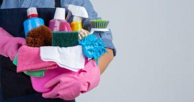 Cómo almacenar los productos de limpieza