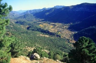 nordeste de la provincia de Jaén